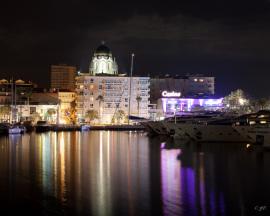 Vue sur le port de Saint-Raphaël